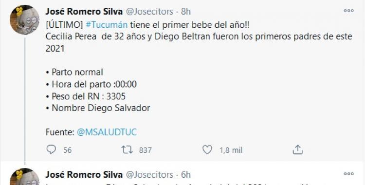 El primer bebé tucumano se llama Diego Salvador y nació hincha de San Martín | El Diario 24