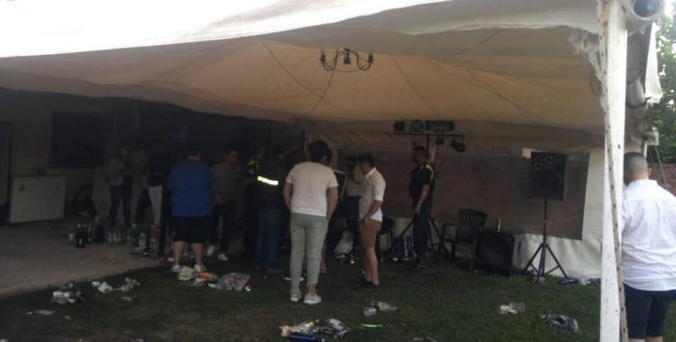 Operativo y controles: Desalojan fiestas clandestinas en Lomas de Tafí y El Cadillal | El Diario 24
