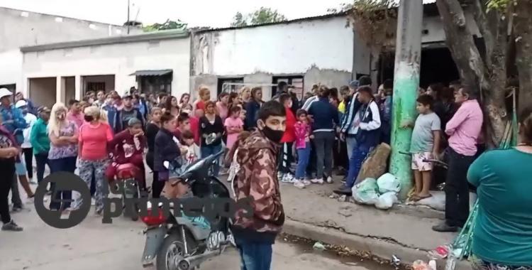 Dolor: así fue el velorio de la joven embarazada asesinada en San Cayetano   El Diario 24