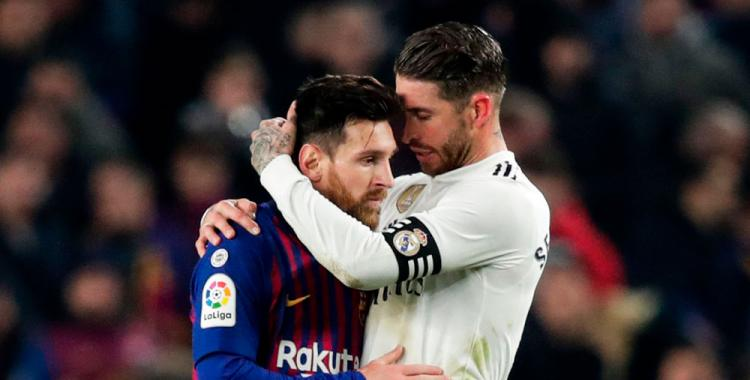 Sergio Ramos podría jugar junto con Lionel Messi y se desató una polémica en España   El Diario 24