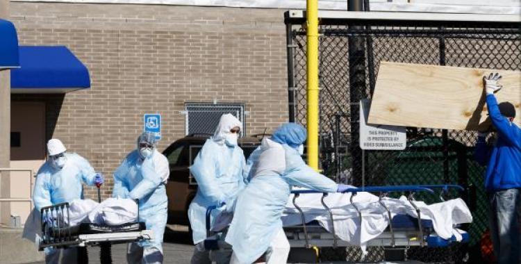 Estados Unidos registró un nuevo récord y superó los 4.000 muertos por Covid-19 en un día   El Diario 24