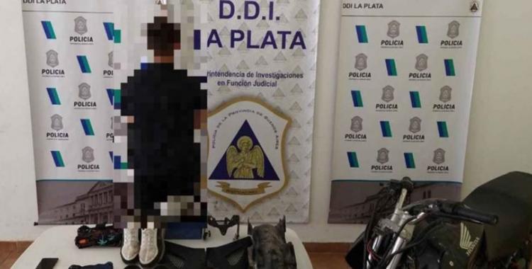 La Policía detuvo a un adolescente de 14 años implicado en el asalto a mano armada a Carolina Píparo | El Diario 24