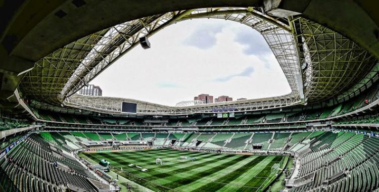 Muy confiados: Palmeiras ploteó su estadio con una Libertadores más | El Diario 24