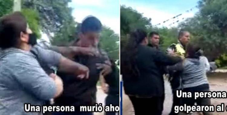 VIDEO Golpearon al delegado comunal de Tapia luego de que una persona muriera ahogada | El Diario 24