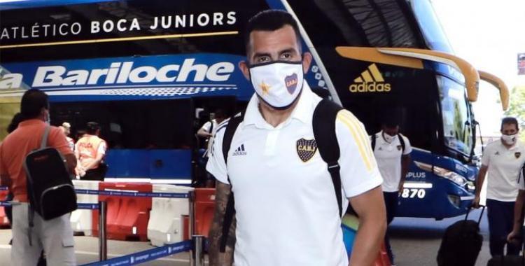 Carlos Tevez arribó a San Juan y será titular esta noche en la final contra Banfield | El Diario 24