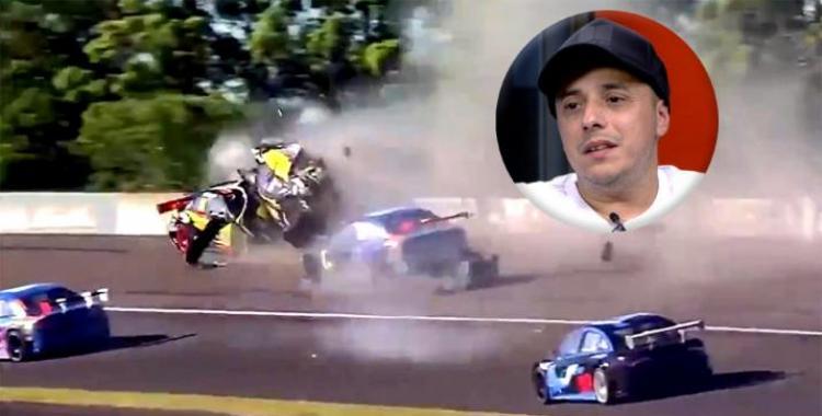 VIDEO Impactante accidente múltiple en el Top Race Junior por una mala maniobra de El Dipy Martínez | El Diario 24
