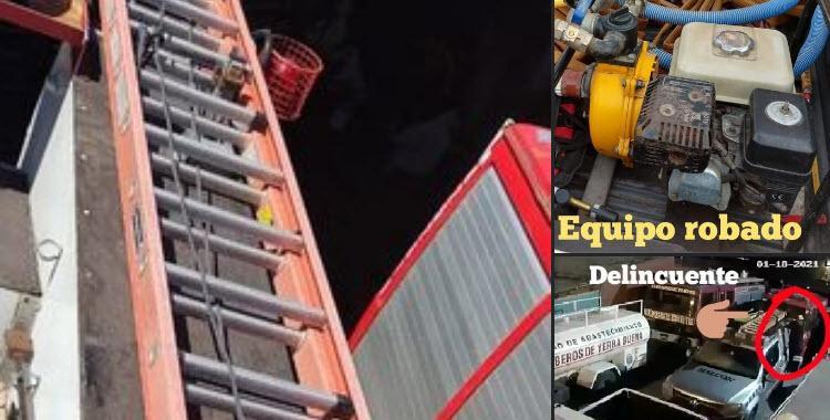 Segundo robo en menos de un mes al cuartel de Bomberos Voluntarios de Yerba Buena   El Diario 24