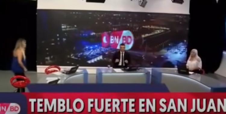 VIDEO El terremoto interrumpió un noticiero en vivo y generó pánico: Es muy fuerte... ¡Ay por Dios! | El Diario 24