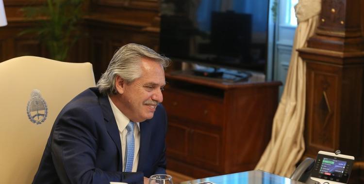 El vínculo entre nuestros países se fortalecerá, subrayó Fernández en un saludo a Biden | El Diario 24