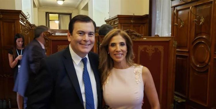 Gerardo Zamora y su esposa Claudia de Zamora superaron el coronavirus y recibieron el alta | El Diario 24