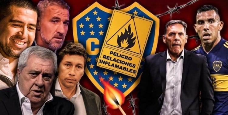 El plantel de Boca en pie de guerra contra el Consejo de Fútbol encabezado por Juan Román Riquelme | El Diario 24