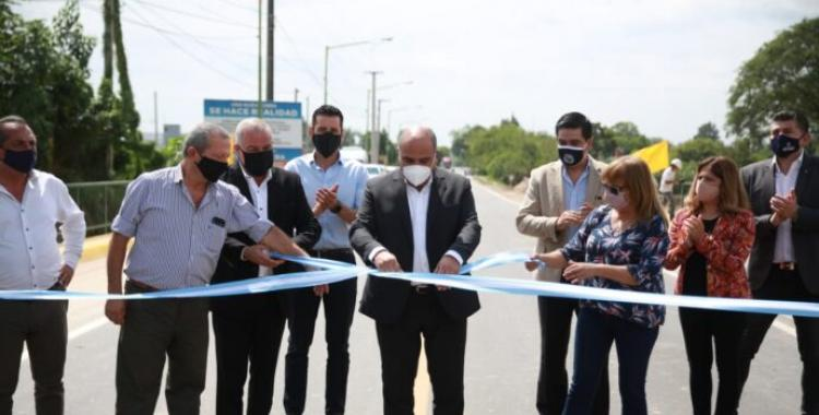 Tafí Viejo: inauguraron el puente de avenida Constitución | El Diario 24