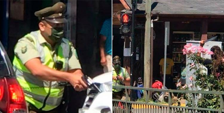 VIDEO Nuevas imágenes del momento en el que Carabineros asesinan a un malabaristas enciende la polémica   El Diario 24