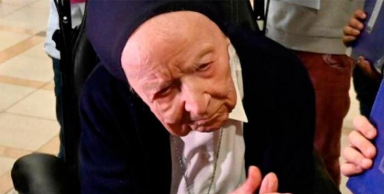 Francia: una monja de 117 años logró vencer al coronavirus | El Diario 24