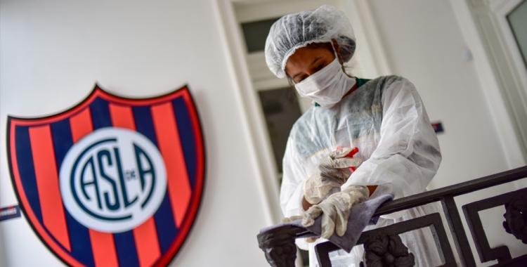 Un mediocampista de San Lorenzo dio positivo de coronavirus | El Diario 24