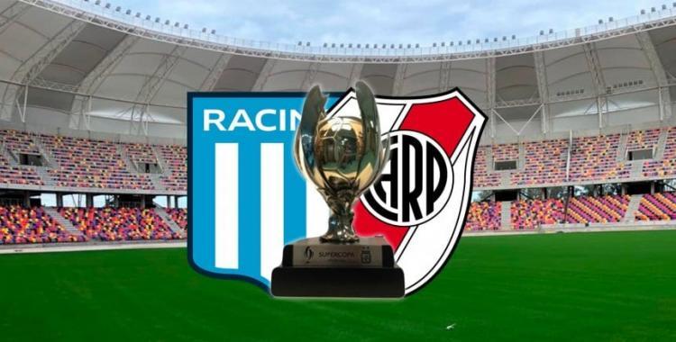 Confirmaron la fecha de la final de la Supercopa Argentina entre River y Racing en Santiago del Estero | El Diario 24