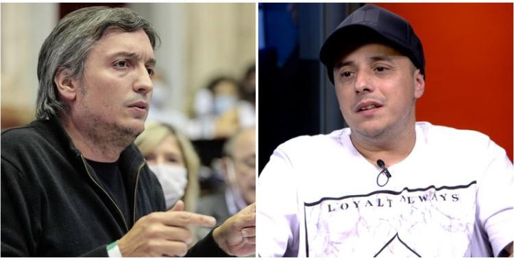 El Dipy se defendió de las críticas y hundió a Máximo Kirchner | El Diario 24