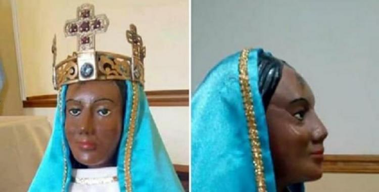 Susto por el robo de la corona de la imagen de la Virgen del Valle | El Diario 24