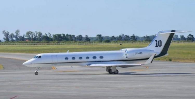 Así es el avión de Lionel Messi en el que Alberto Fernández viajó a México | El Diario 24