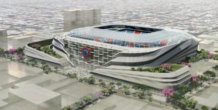 Marcelo Tinelli presentó la maqueta del nuevo estadio que planea hacer San Lorenzo en Boedo | El Diario 24