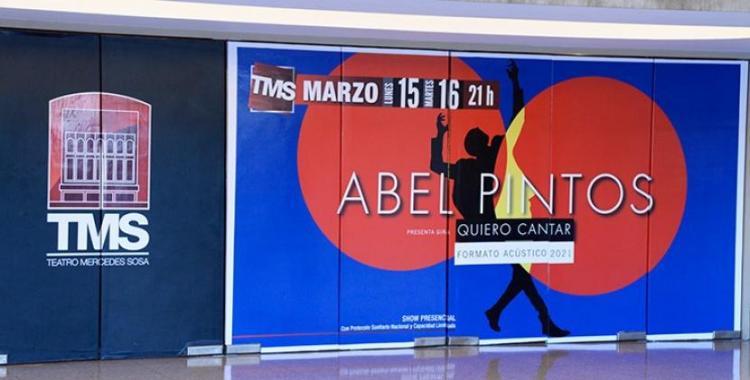 A pedido de las fanáticas, el Teatro Mercedes Sosa suma tres nuevas funciones de Abel Pintos   El Diario 24