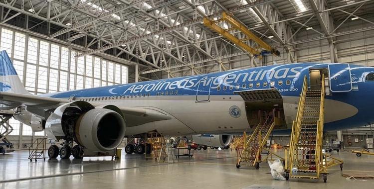 Parte el vuelo de Aerolíneas Argentinas hacia China para traer dosis de la vacuna de Sinopharm   El Diario 24
