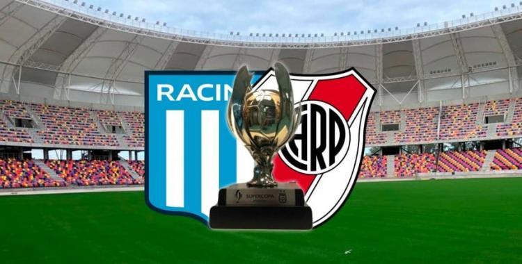 Árbitro confirmado para la gran final de la Supercopa Argentina entre Racing y River | El Diario 24
