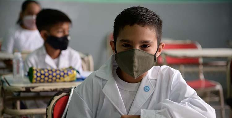 Volvieron las clases presenciales a Tucumán y Manzur inauguró el ciclo lectivo 2021 | El Diario 24
