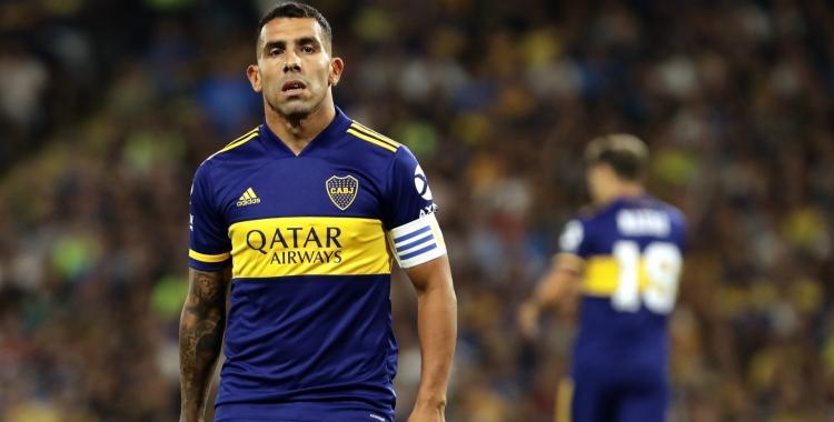 Carlos Tevez concentrará para jugar el domingo contra Vélez, pero no se sabe si será tenido en cuenta | El Diario 24