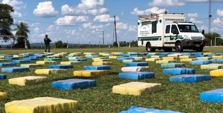 Misiones: secuestran casi tres toneladas de marihuana en un operativo | El Diario 24
