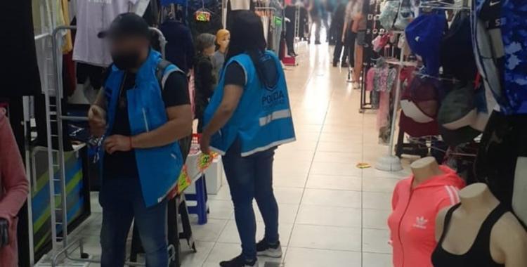 Secuestran más de 14.700 prendas de vestir que infringían la ley de marcas en una galería | El Diario 24