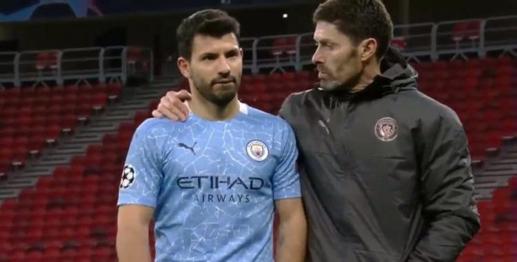 VIDEO La queja del Kun Agüero al finalizar el partido que clasificó a su equipo a 4tos de la Champions   El Diario 24