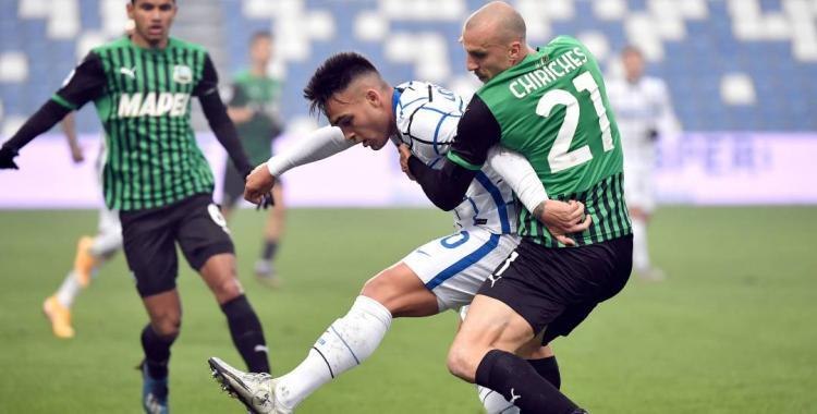 Dos casos positivos de Covid-19 en el Inter obligaron a suspender su partido contra el Sasuolo | El Diario 24