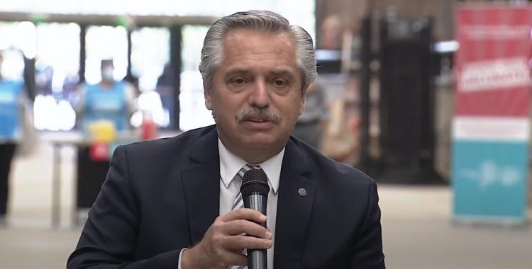 Alberto Fernández y una nueva promesa sobre la vacunación para fines de abril | El Diario 24