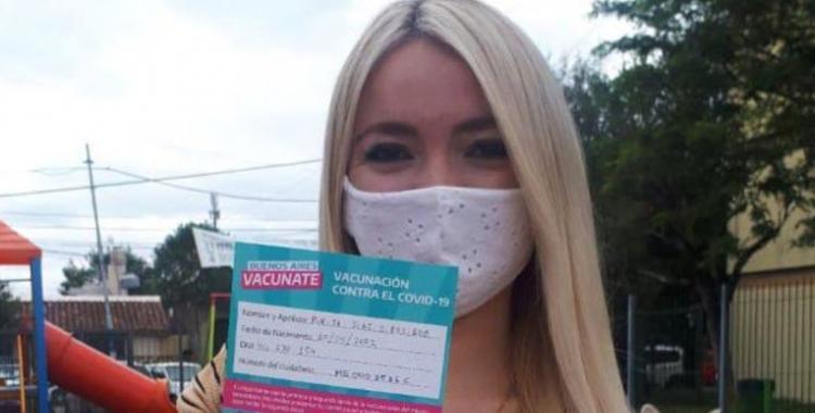 Echaron a la becaria de Jorge Ferraresi que recibió la vacuna con solo 18 años | El Diario 24