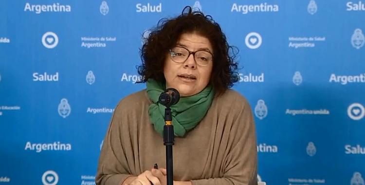 """Vizzotti: """"Las nuevas variantes son más transmisibles y podrían ser más letales""""   El Diario 24"""
