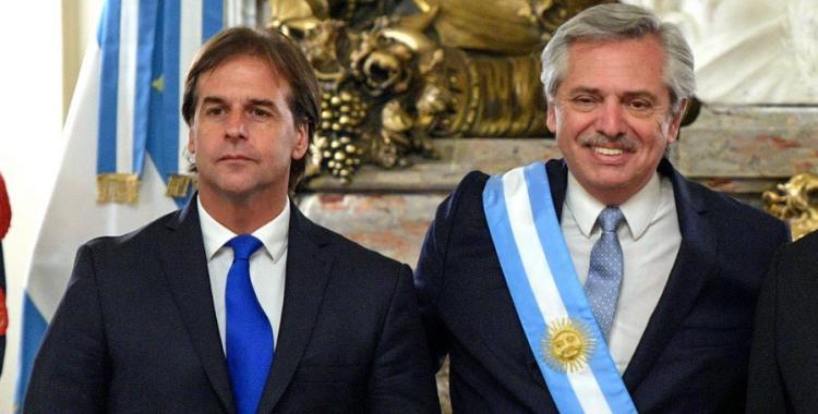Qué dijeron los medios uruguayos del violento cruce entre Lacalle Pou y Alberto Fernández   El Diario 24