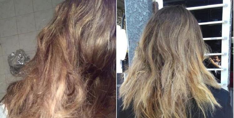 Una mujer deberá recibir una indemnización de 220.000 pesos por un peluquero que le quemó el cabello | El Diario 24