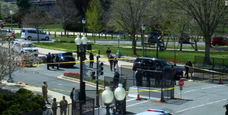 Un hombre embistió a dos de los guardias del Capitolio: mató a uno de ellos y fue abatido por la policía   El Diario 24