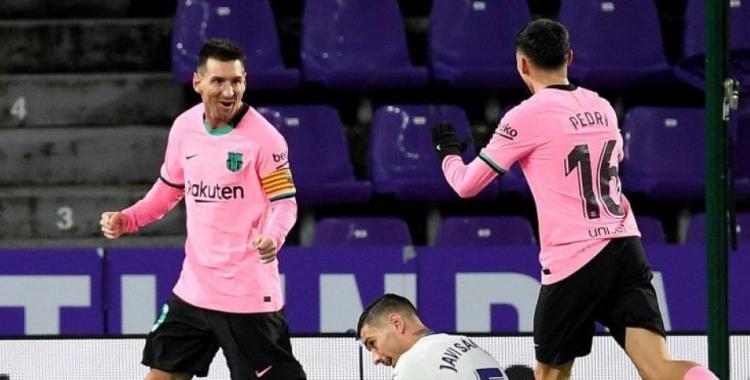 El Barcelona de Lionel Messi recibe al Valladolid con la oportunidad de quedar a 1 punto del Atlético | El Diario 24