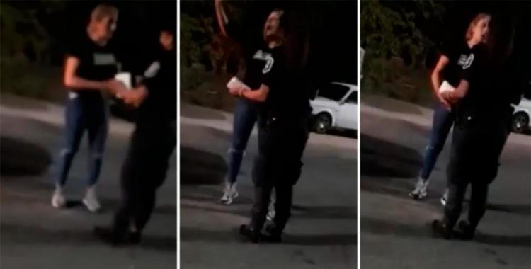 VIDEO Estamos re en pedo, admitió una mujer que venía en un auto que chocó y mató a un hombre | El Diario 24