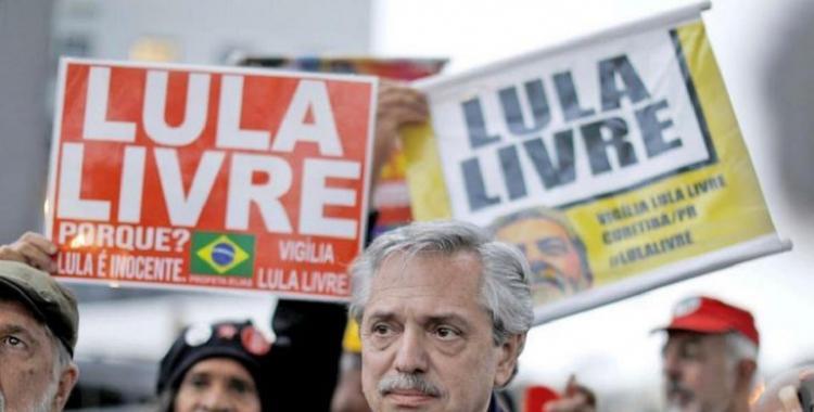 Fuerte respaldo de Alberto Fernández a Lula da Silva: pidió a la Justicia no ceder por cuestiones mediáticas | El Diario 24