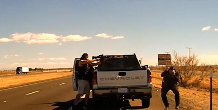 Un narco disparó y mató a un policía: todo quedó grabado en video   El Diario 24