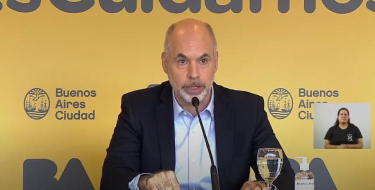 Larreta pidió una reunión urgente con Alberto Fernández y confirmó que presentará un amparo por las clases   El Diario 24