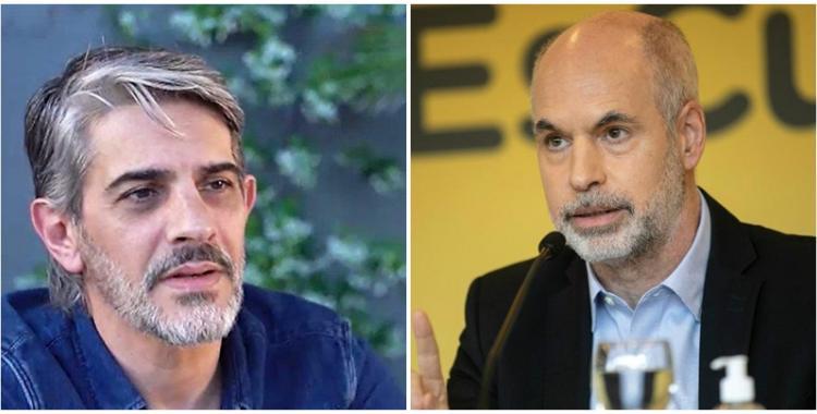 Cruel y suicida: Pablo Echarri descargó su furia contra Larreta   El Diario 24