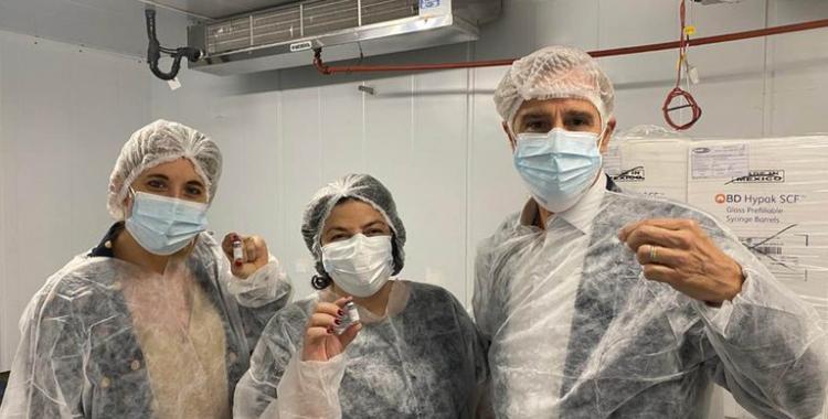 El presidente del laboratorio Richmond habló sobre la producción de las vacunas Sputnik V: para quiénes serán | El Diario 24