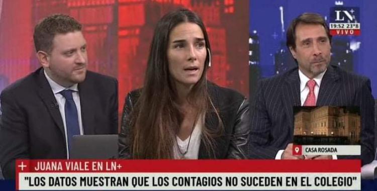 Juana Viale opinó sobre las clases presenciales, el presente de Argentina y le llovieron las críticas en las redes | El Diario 24