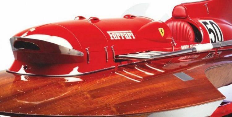 VIDEO: así es el único hidroavión de Ferrari que viaja a 242 km/h | El Diario 24