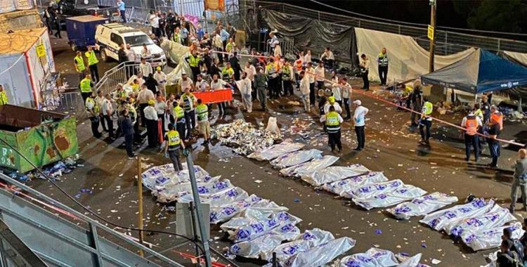 VIDEO Peregrinación religiosa terminó en tragedia en Israel por una estampida que dejó 44 muertos | El Diario 24