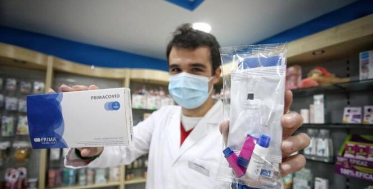 Prohíben la venta de test rápidos para detectar Covid-19 en farmacias: Mirá la explicación que dieron | El Diario 24